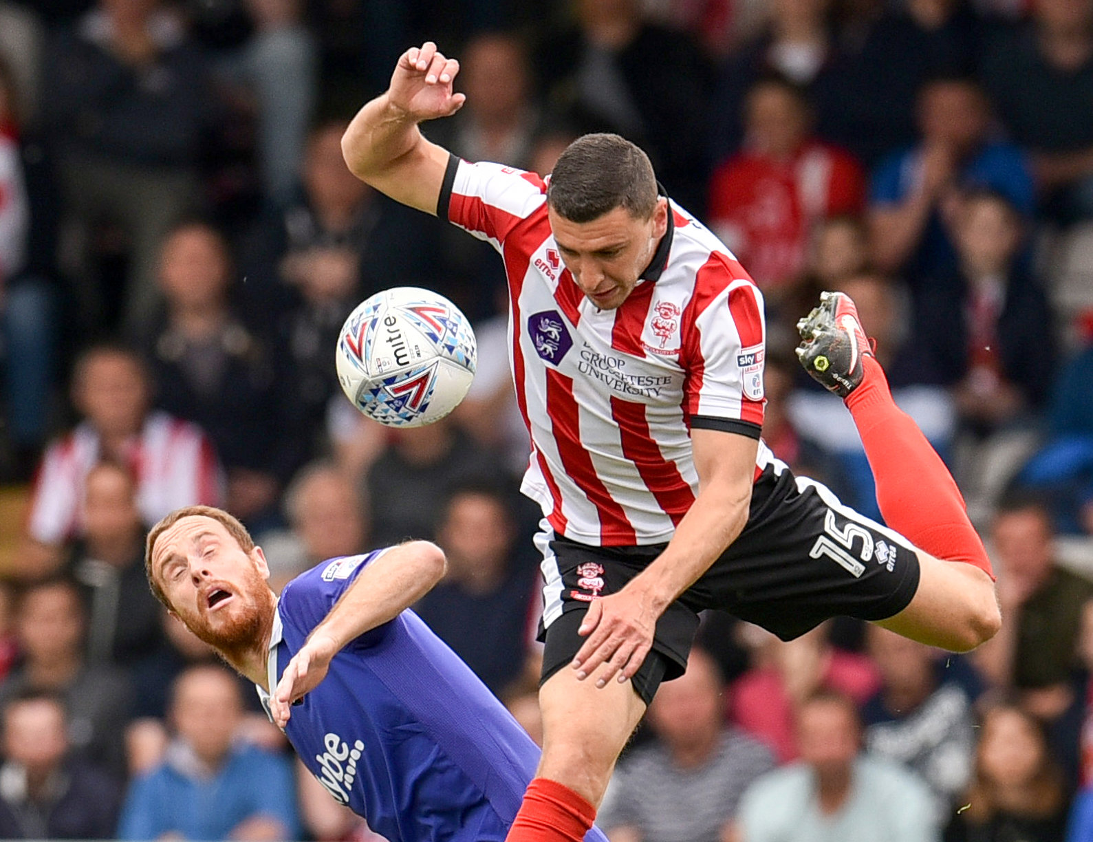 League Two Play Off Semi Final First Leg – Lincoln City v Exeter City
