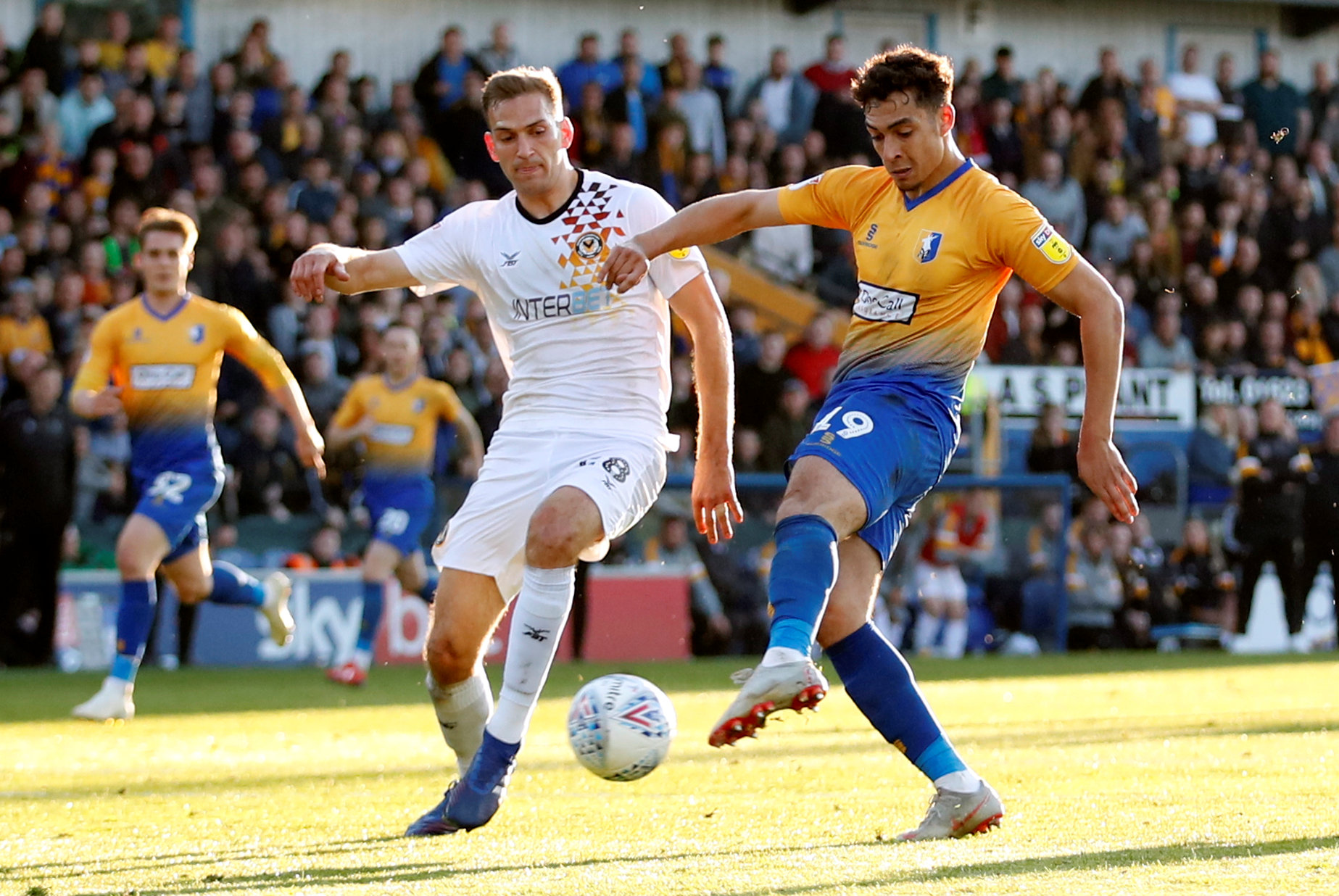 League Two Play-Off Semi Final Second Leg – Mansfield Town v Newport County