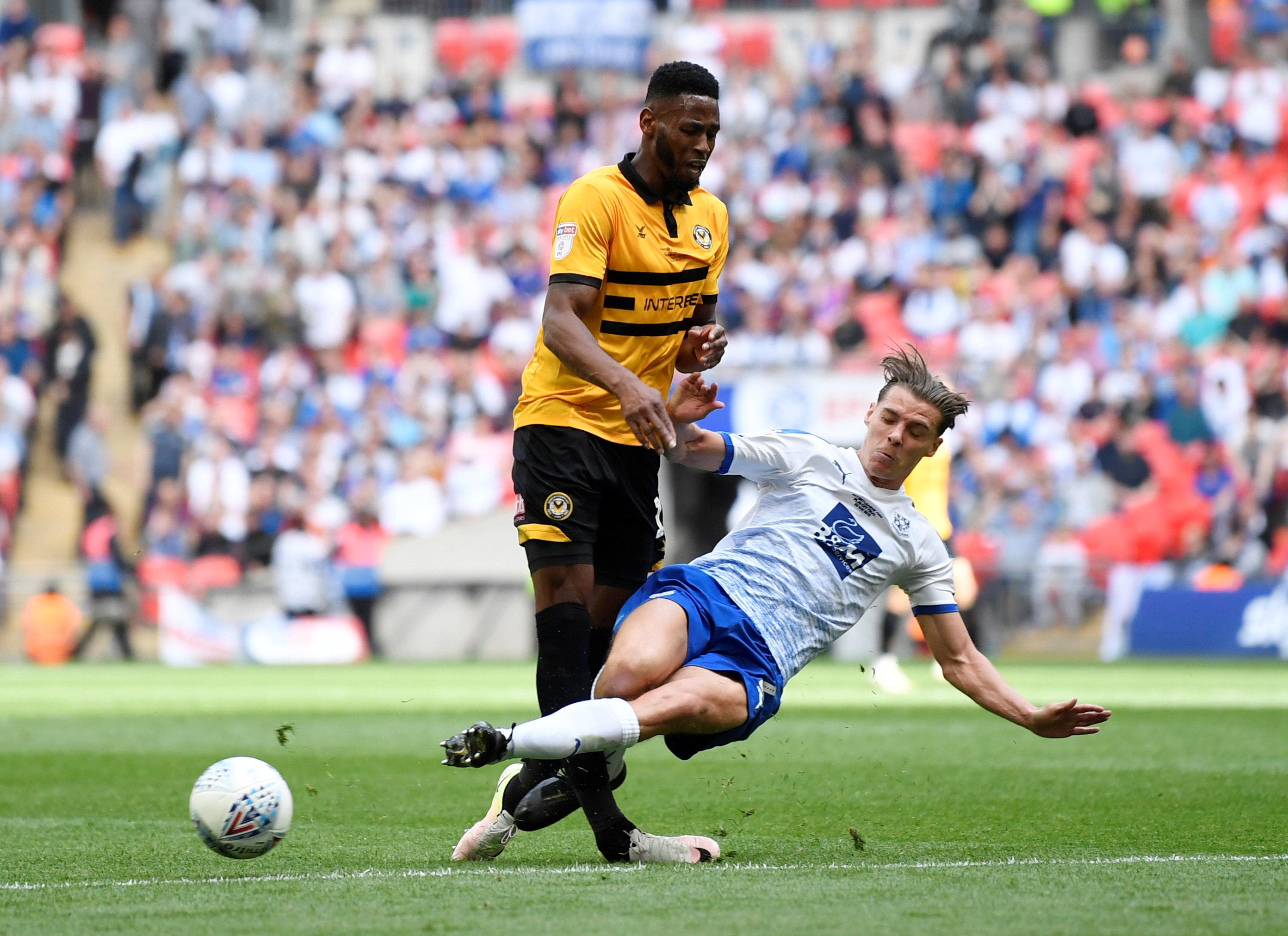 League Two Play-Off Final – Newport County v Tranmere Rovers