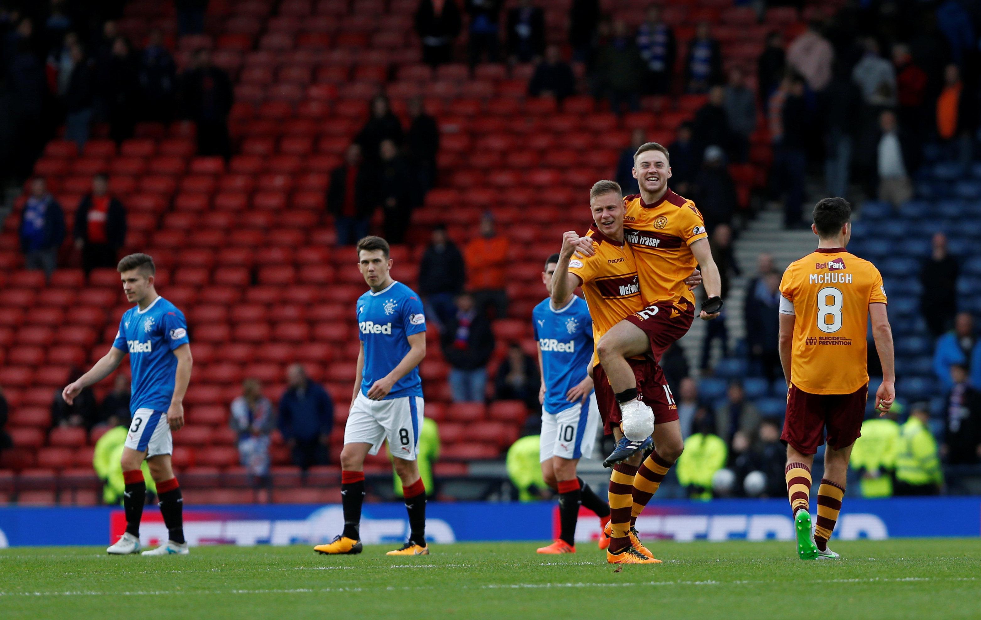 Scottish League Cup Semi Final – Rangers vs Motherwell