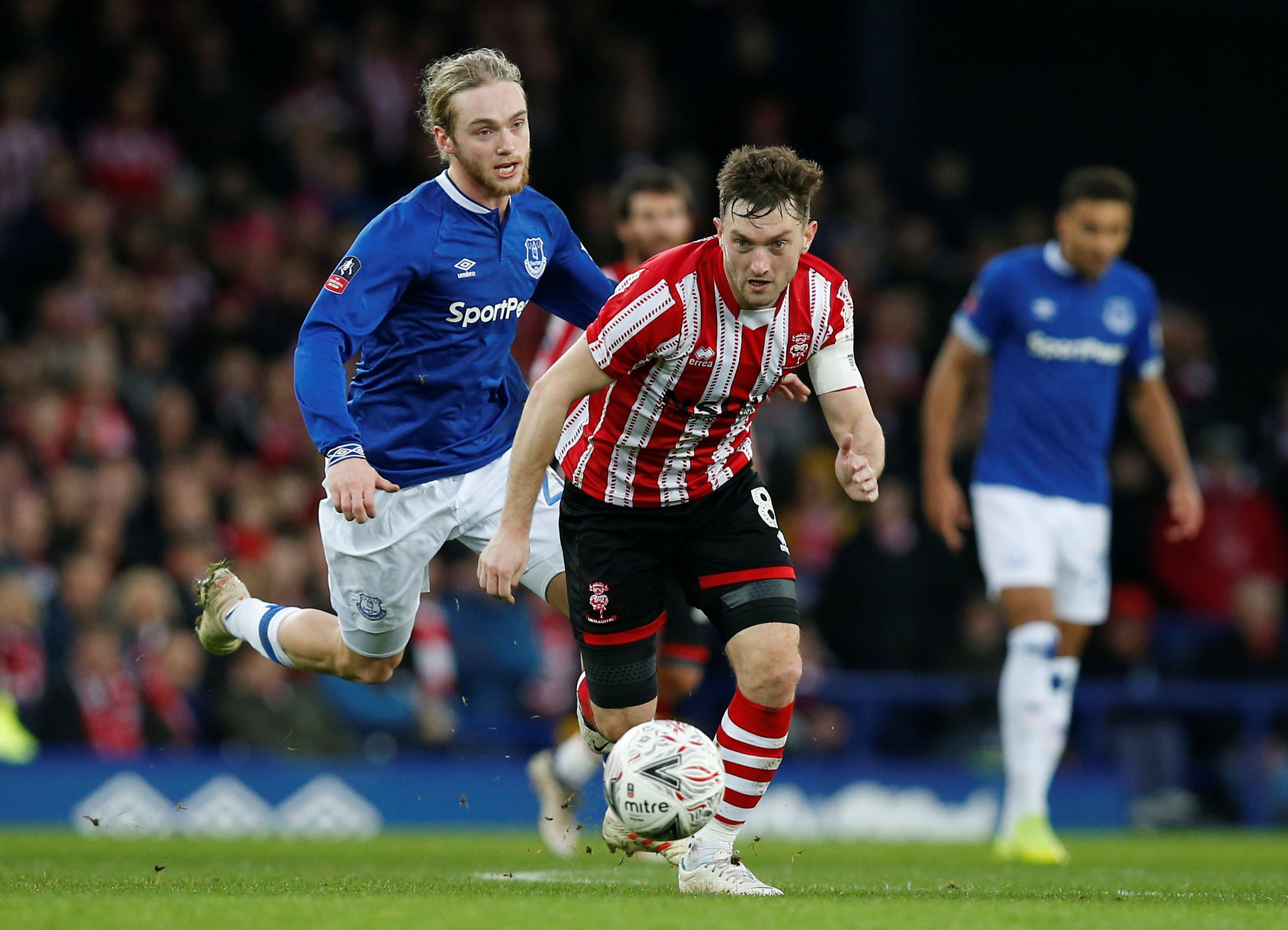 FA Cup Third Round – Everton v Lincoln City