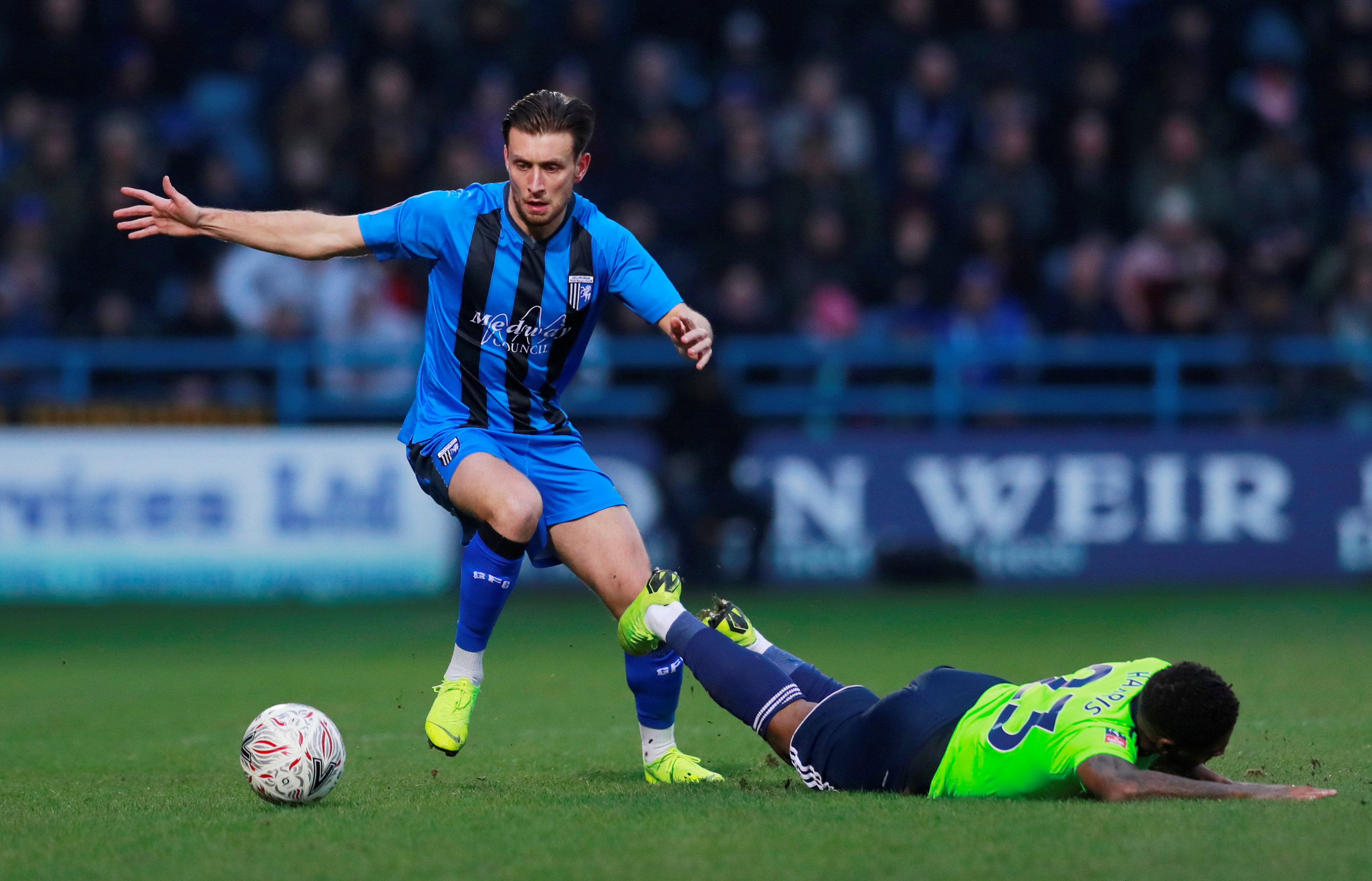 FA Cup Third Round – Gillingham v Cardiff City