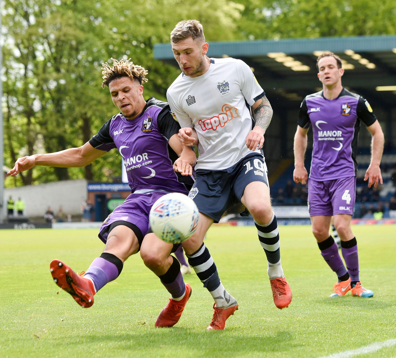 League Two – Bury v Port Vale