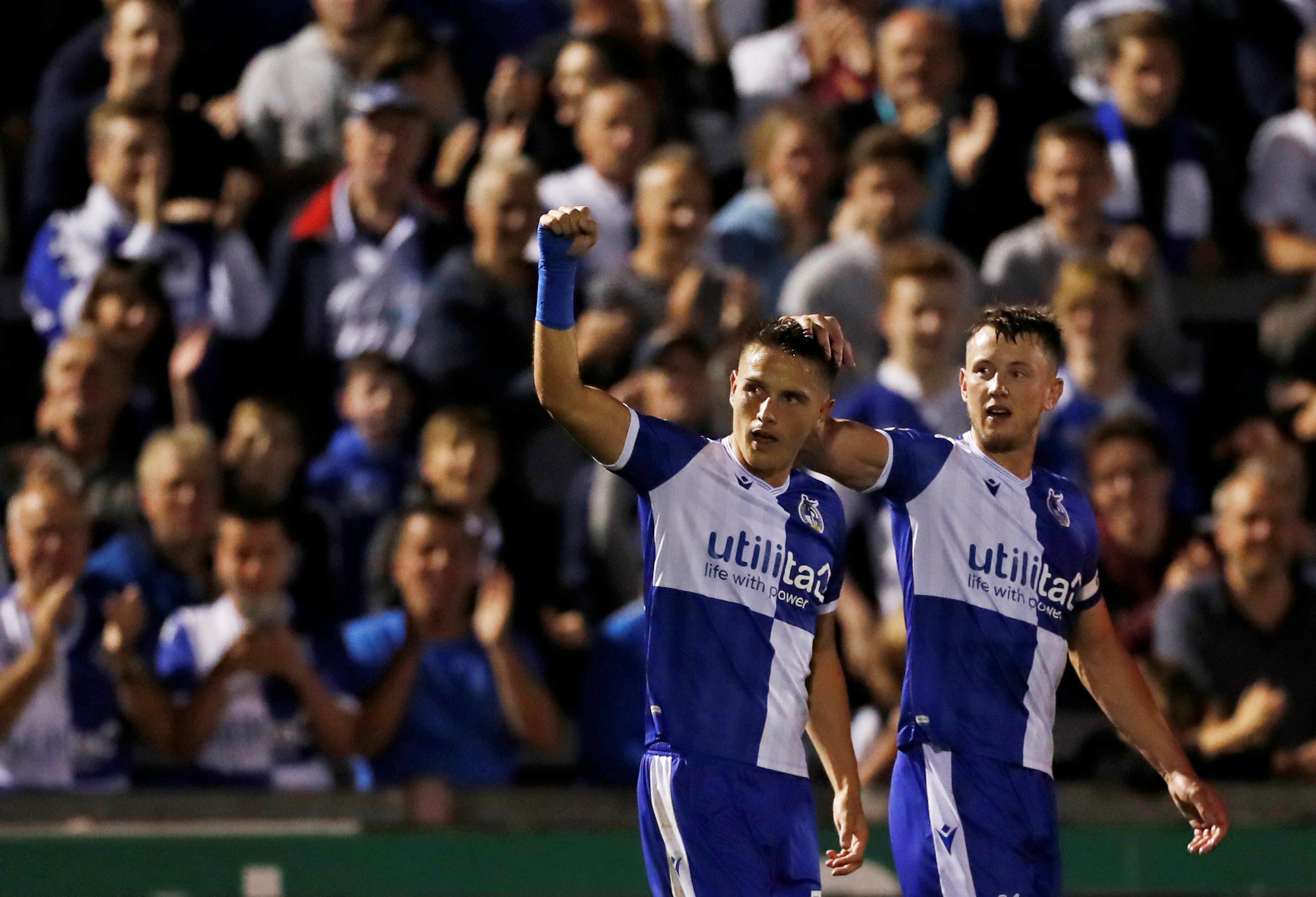 Carabao Cup Second Round – Bristol Rovers v Brighton & Hove Albion