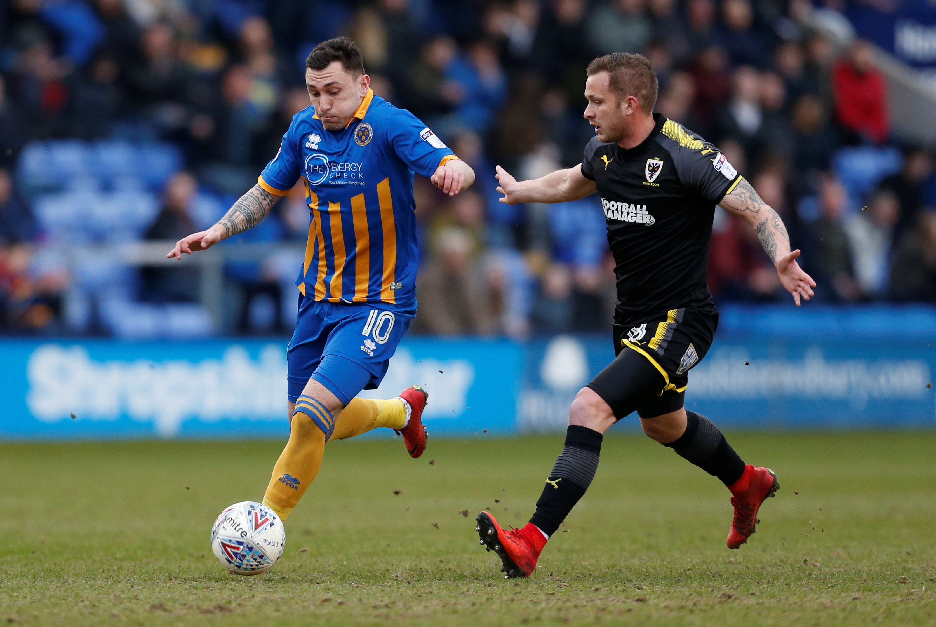 League One – Shrewsbury Town vs AFC Wimbledon
